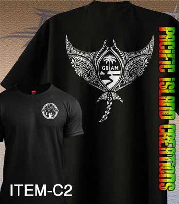 Pacific island creations hawaiian chamorro samoan t for Hawaiian design t shirts